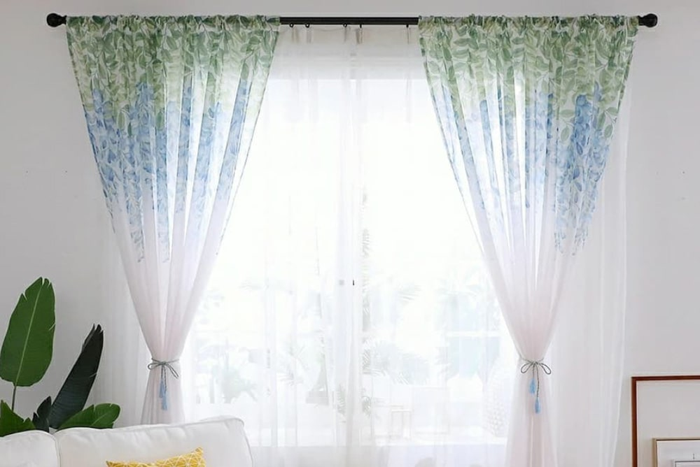 Edit Home Voile Curtains